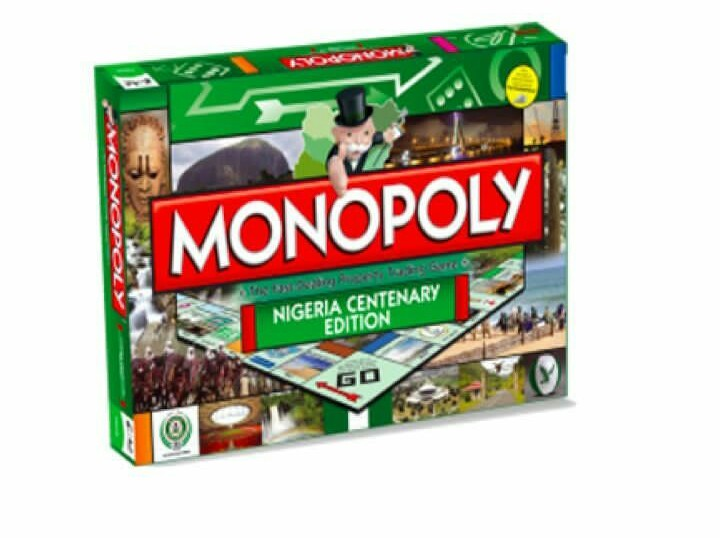 Bestman Games Nigeria Centenary Edition Of Monopoly