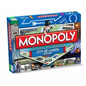 City of Lagos Edition of Monopoly (Square)