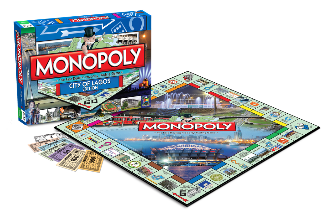 City of Lagos Edition of Monopoly (Rectangle)
