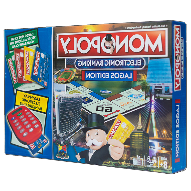 Bestman Games City Of Lagos Edition Of Monopoly Rectangle